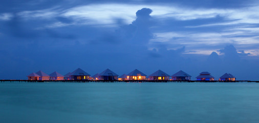 Maldive - palafitte