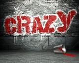 Fototapete Zement - Konzept - Graffiti