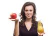 Apfel und Birne im Vergleich