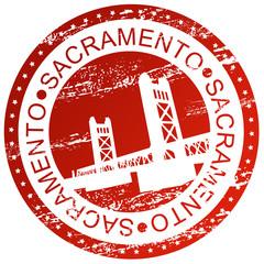 Stamp - Sacramento, USA
