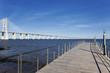 view of the big Vasco da Gama bridge