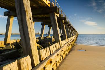 Blyth south pier