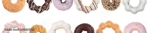 Colorful Donut Border