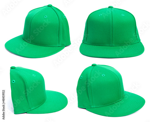 Green Hat at Different Angles