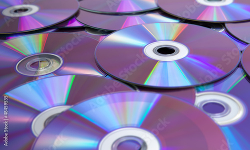 Data and DVDs