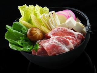 Sukiyaki japanese food