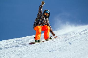 hello snowboarder