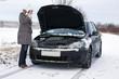 Car break - woman phoned the breakdown service