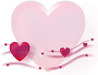 Valentinstag mit großem Herz