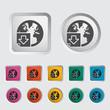Download file single icon.