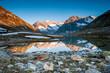Mountain panorama from Maerjelensee
