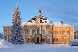 Kuopio City Hall in winter, Finland