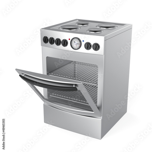 Inox electric stove