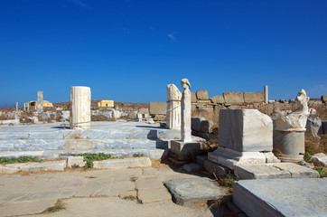 Ancient Delos, Greece