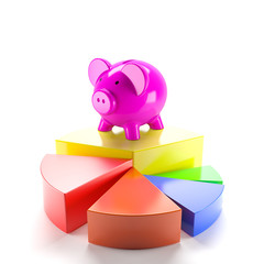 Piggy bank on graph