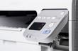 Leinwanddruck Bild - Laser printer detail.