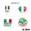 drapeau : made in italy