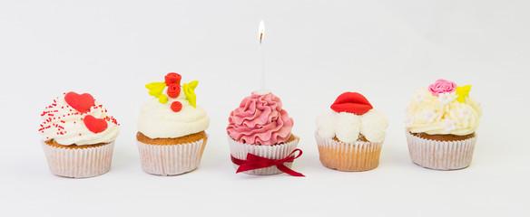 Cupcake zum Valentinstag