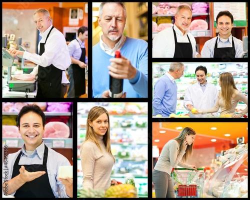 Supermarket composition