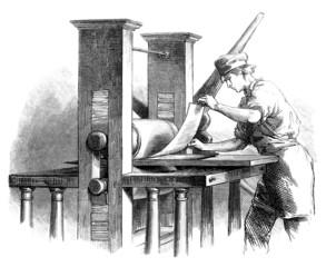 Printing Press - 19th century