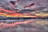 Fototapety Paysages de la Laponie finlandaise