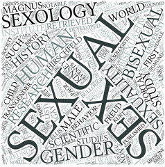 Sexology Disciplines Concept