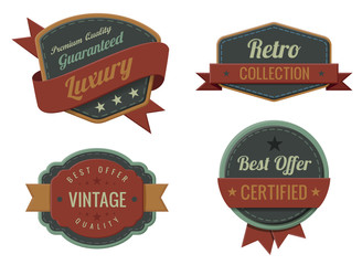 Vintage Labels template collection. Luxury Retro design