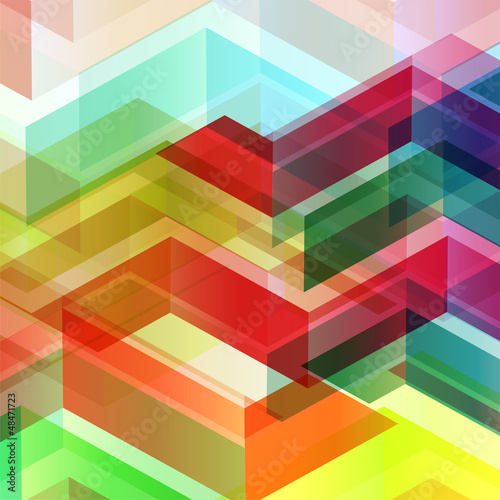 abstract geometric style texture & background
