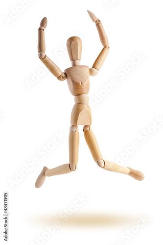 Marionnette de bois