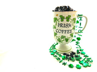 Irish Coffee Mug Isolated