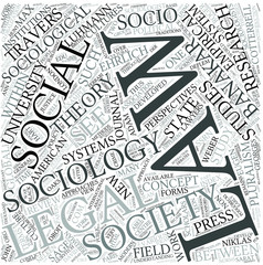 Sociology of law Disciplines Concept