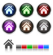 Colorful honeycombhome  icon