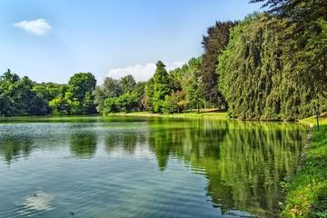 Garden of Villa Contarini Piazzola sul Brenta Italy