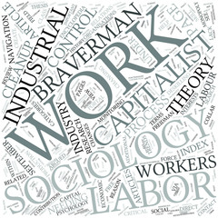 Sociology of work Disciplines Concept