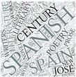 Spanish literature Disciplines Concept