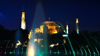 Istanbul, Hagia Sophia at Night