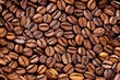 Roasted Coffee beans closeup background