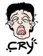 Cry man