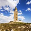 Hercules tower, La Coruna, Galicia, Spain, UNESCO