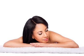 Spa skincare cosmetics beauty face