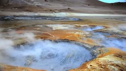 Boiling Mudpot at Hverir