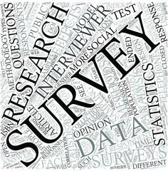 Survey (statistics) Disciplines Concept