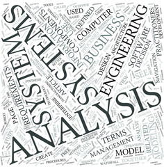 Systems analysis Disciplines Concept