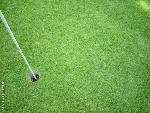 Golf course beauty colors background