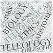 Teleology Disciplines Concept