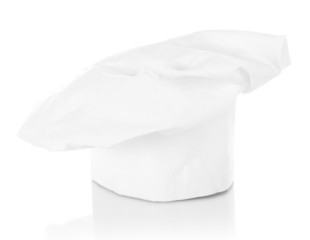 Chef's hat isolated on white