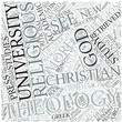 Theology Disciplines Concept