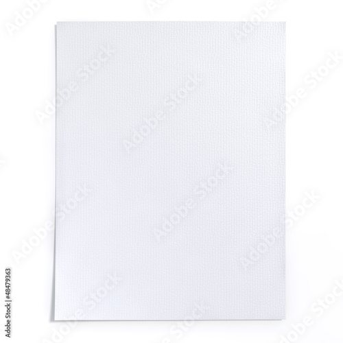 Art paper texture with white color, High resolution background.