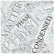 Condensed matter physics Disciplines Concept