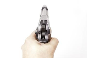 Pistol shooting